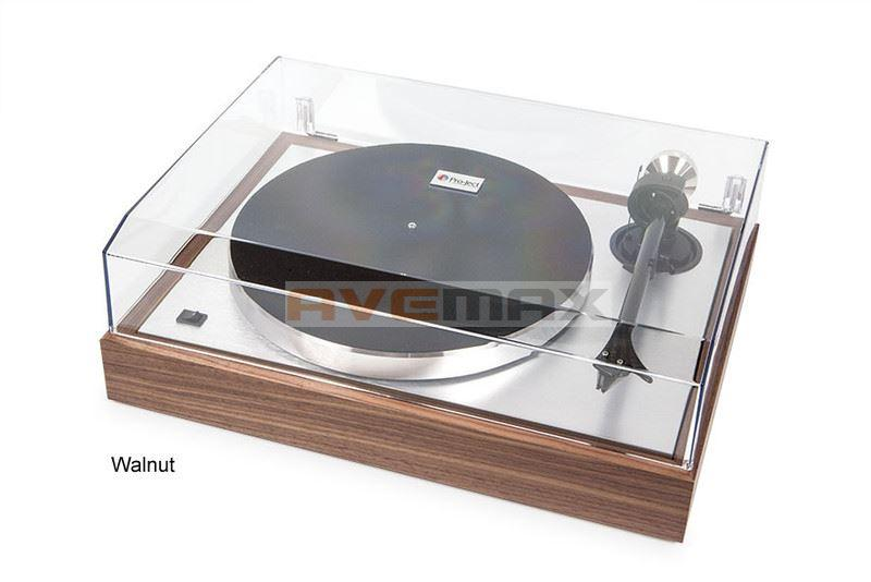 Pro-Ject The Classic Walnut + 2M Silver