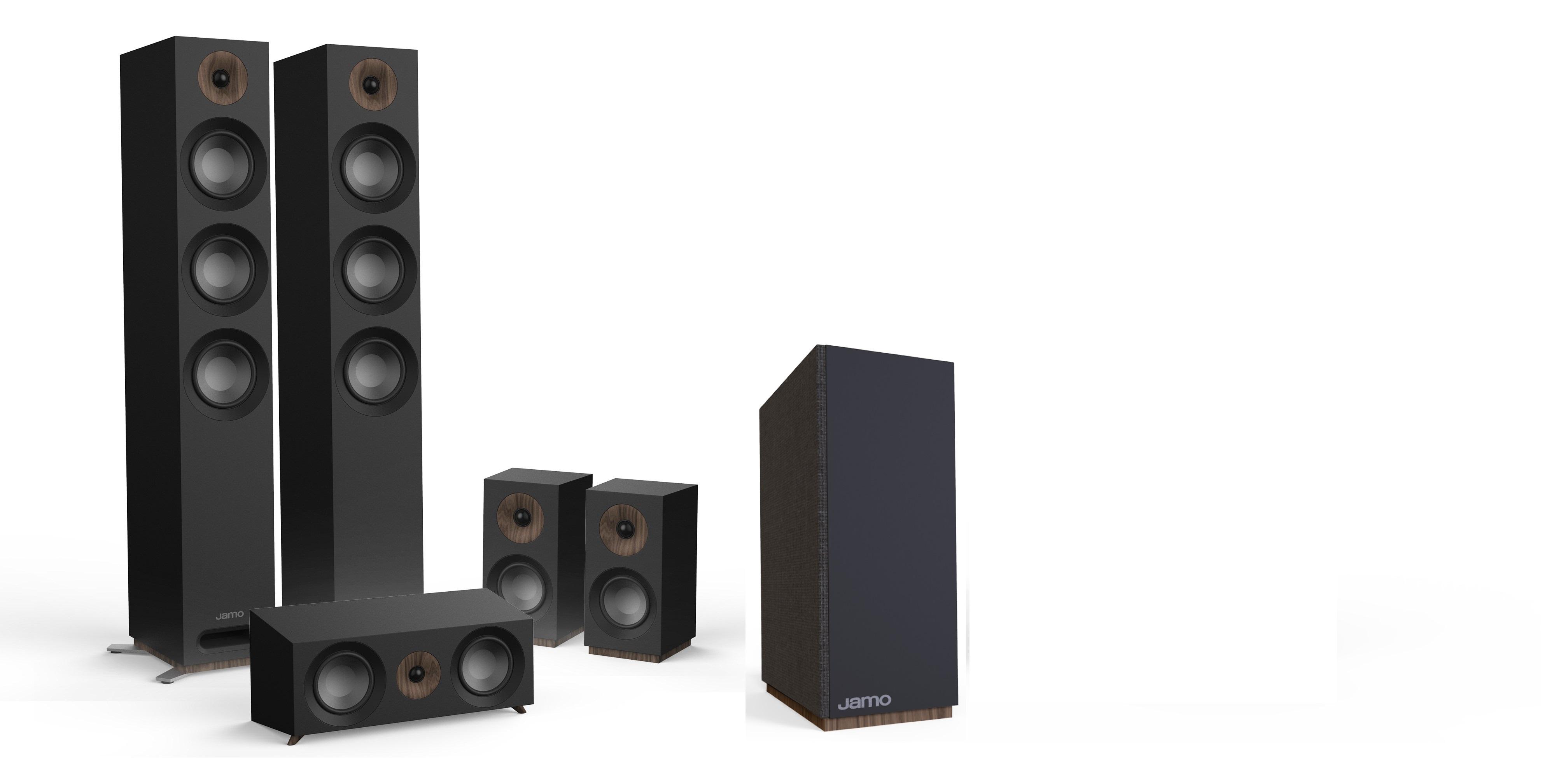 Jamo S 809 HCS 10 (černé)