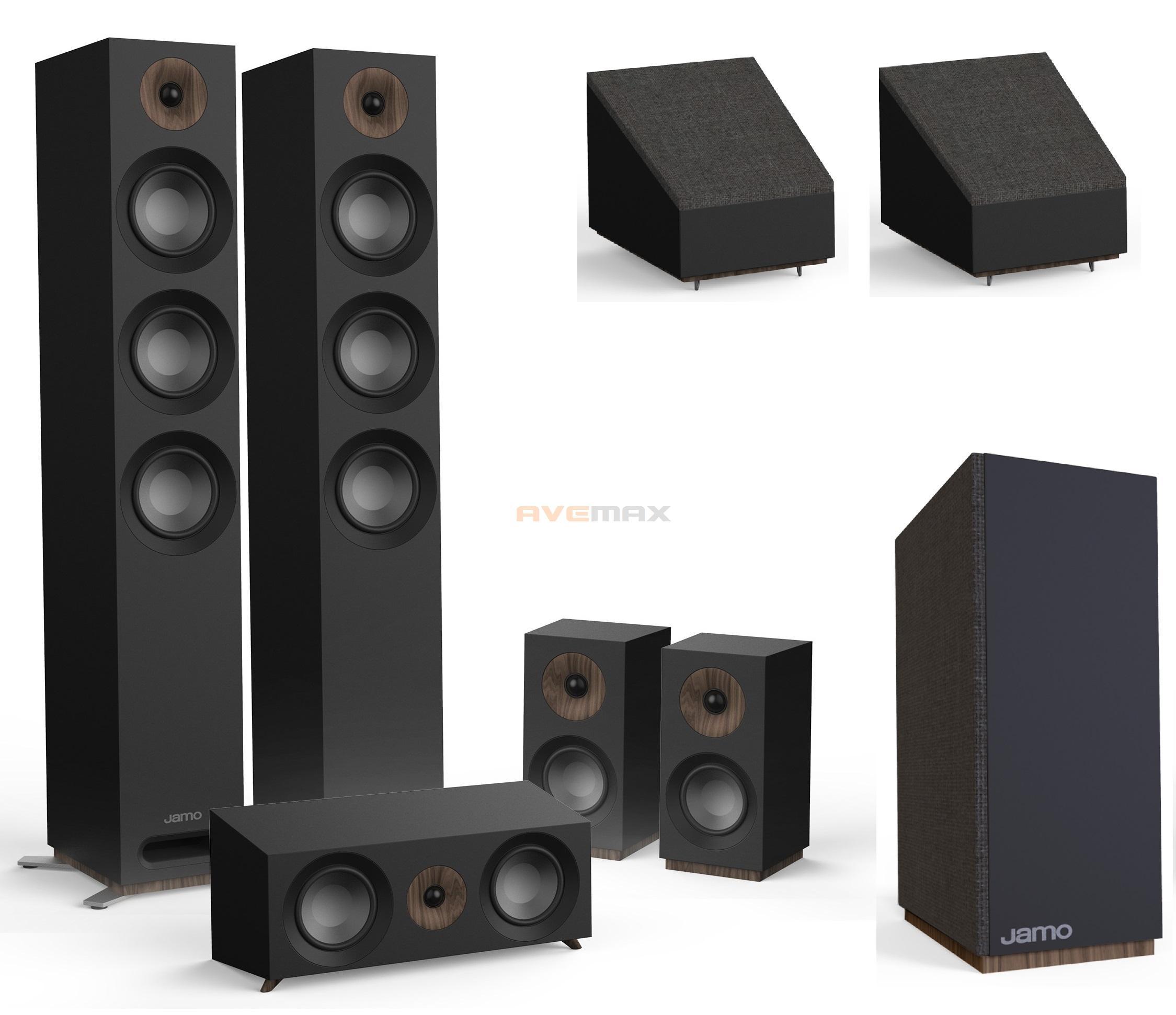 b94ef5cde Jamo S 809 HCS 10 + Dolby Atmos (černé) | YAMAHA SHOP, YAMAHA AUDIO ...