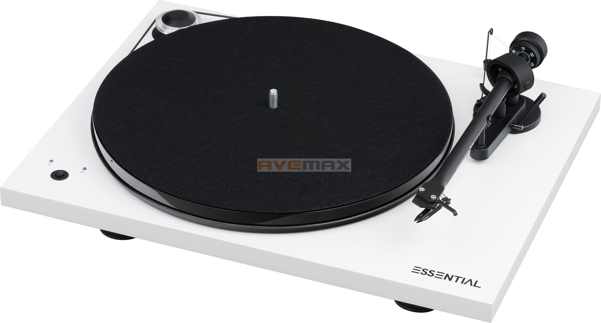 Pro-Ject Essential III SB White + OM10