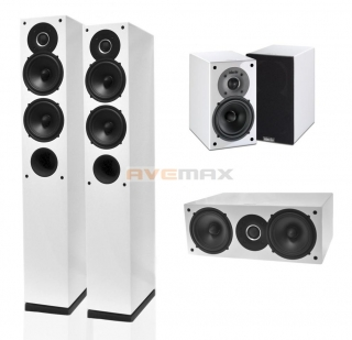 INDIANA LINE TESI HIGH GLOSS HOME CINEMA SET 5.0 WHITE
