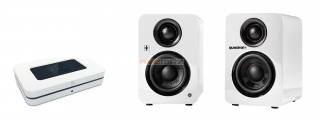 Bluesound NODE 2i+ Quadral BREEZE blue XL