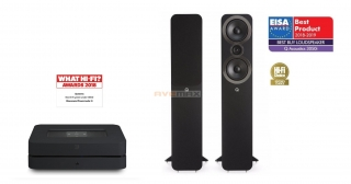 Bluesound POWERNODE 2i + Q Acoustics 3050i